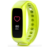 博之輪(BOZLUN )運動手表戶外多功能光學心率彩屏手環 L30T綠色