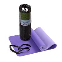 IKU加厚系列男女健身垫 10MM加长防滑瑜伽运动毯183CM*61CM