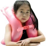 泳乐宝第六代立柱型游泳圈救生圈儿童成人学游泳背漂浮手臂圈 S红身高115-135cm
