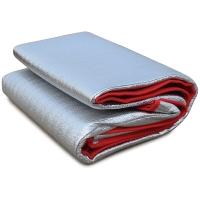 红色营地 户外防潮垫 加厚野餐垫子 帐篷地席 双面铝膜190*200*0.4cm