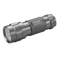 博客(Bocca) 手电筒手电 迷你型泛光手电筒 家用手电筒 航空铝合金制造SLT-P009(黑色)