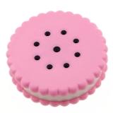 [京东下架品种]马洛里 隐形眼镜盒伴侣盒双联盒美瞳盒护理盒 饼干形 粉色
