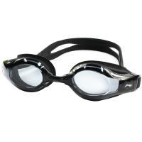 李宁LI-NING 近视泳镜 男女防水防雾高清游泳镜 正品游泳眼镜 LSJK668黑 450度