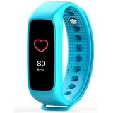 博之轮(BOZLUN )运动手表户外多功能光学心率彩屏手环 L30T蓝色
