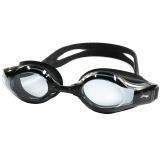 李宁LI-NING 近视泳镜 男女防水防雾高清游泳镜 正品游泳眼镜 LSJK668黑 350度