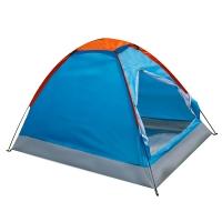 红色营地 户外帐篷 双人防风防雨野外露营帐篷 春晓蓝色
