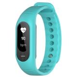 博之轮(BOZLUN)智能手表户外运动测心率血压健康手环 B15P绿色