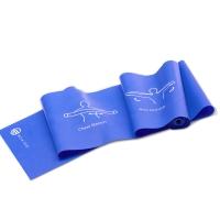 弥雅(MIYA UGO)多功能弹力带 环保瑜伽塑形体拉力带健身伸展阻力带弹力绳 蓝色一条