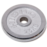 凯速 电镀配重 杠铃片2.5公斤(孔径28mm单片)