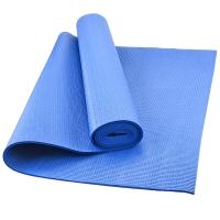 乐士Enpex 4mm环保瑜伽垫 男女健身垫 俯卧撑垫 蓝色