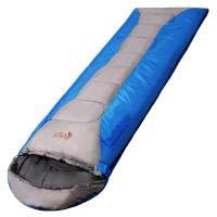红色营地 睡袋户外成人春夏秋冬加厚保暖午休超轻露营 可伸手睡袋 如梦1.1kg蓝色