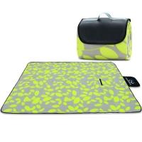创悦 野餐垫 防潮垫 爬行垫 睡垫 加厚绒面双层 CY-5826小树叶