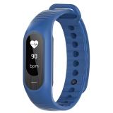 博之轮(BOZLUN)智能手表户外运动测心率血压健康手环 B15P蓝色