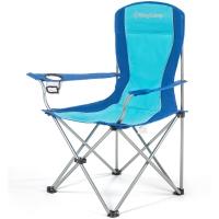 康尔(KingCamp) 折叠椅 扶手椅 休闲椅 户外露营休闲 铁管 轻巧便携 舒适耐用 KC3818 蓝色