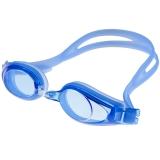 奇海平光游泳镜男女通用游泳装备 AF1100蓝色
