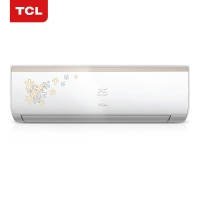 TCL 正1匹 定速 冷暖 空调挂机(时尚印花 隐藏显?#37202;粒↘FRd-25GW/FC23+)