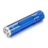 博客(Bocca) 手电筒手电 LED手电防水防摔迷你泛光手电筒 便携随身送电池手绳 航空铝合金制造 SLT-P004 蓝色