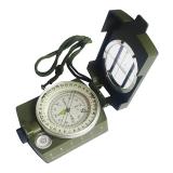 捷昇 美式多功能专业指南针户外登山指北针旅行地质罗盘 带荧光圈 高精准1001 ZN02
