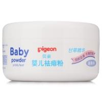 贝亲(Pigeon)婴儿爽身 祛痱 痱子粉 120g HA09(甘草精华)