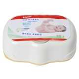 贝亲(Pigeon)婴儿柔湿巾 湿纸巾 80片装 KA35(盒装)