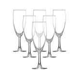 青苹果 巴洛克170ml高脚杯香槟杯 6只装EJ5005