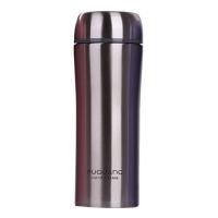 富光 经典简约奥氏体304不锈钢保温杯 420ml 本色