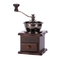 亞米(Yami)小木手搖磨豆機  咖啡豆研磨機手動 YM8521