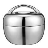 金钥匙(GOLDEN KEY) 饭盒 1000ML密封苹果型 GK-QQ1000