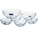 乐美雅 Luminarc 阿尔卡德 钢化玻璃沙拉碗 6件套