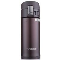 象?。╖O JIRUSHI)保溫保冷杯 360ml不銹鋼真空戶外防漏彈蓋直飲水杯子 SM-KB36-TM