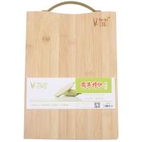 三月三(Mar 3rd)竹质砧板 切菜板 水果板 (28cm*20cm*1.5cm)ZNB01 新老包装和把手随机