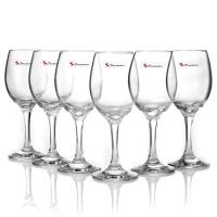帕莎帕琦(Pasabahce)无铅玻璃马尔代夫红酒杯 6只装310ml 葡萄酒杯干白酒杯 44993