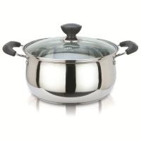 美厨雅厨系列20CM不锈钢复底弧形汤锅YC20