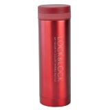 乐扣乐扣(locklock)不锈钢纤巧便携保温杯茶水杯车载商务杯子LHC560(300ml)红色