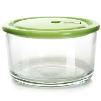 克芮思托 NC-8617玻璃圆型储藏保鲜碗便当盒饭盒1000毫升