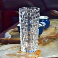 克芮思托 NC-8553玻璃花瓶巴塞罗花插15.5厘米颜色随机