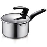 蘇泊爾16cm巧立304不銹鋼奶鍋復底湯鍋奶鍋煮面鍋明火電磁爐通用ST16J1