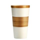 特美刻(TOMIC)馬克杯 陶瓷杯情侶咖啡杯創意水杯子 1BPM1322 白色