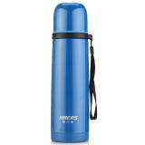 哈爾斯 HAERS 500ml不銹鋼真空保溫吊帶水杯子LB-500F-6(鋼藍色)