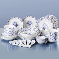 韵唐 心愿 30头陶瓷餐具套装碗碟盘