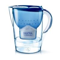 碧然德(BRITA)濾水壺 Marella藍色3.5L 1壺1芯