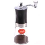 亞米(Yami) 迷你手搖磨豆機 咖啡豆研磨機 黑色 YM-5601