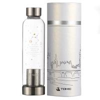 特美刻(TOMIC)玻璃杯 12星座系列柠檬水杯子泡茶杯 1BSB1167U 500ML 巨蟹