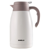 SIMELO 保温壶 2.0L不锈钢印象京都系列 平安白色SM1497
