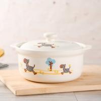 泥火匠 汤煲 陶瓷 小斑马 2.1L如意炖锅 釉中彩耐热砂锅 汤锅