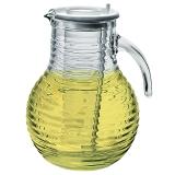 波米歐利(bormioli rocco )威哇無鉛玻璃帶蓋帶冰桶帶攪拌棒涼水壺2000mL