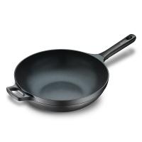 意大利拉歌蒂尼 蓝钻26cm不粘煎炒锅 可煎可炒 不锈钢锅底燃气电磁炉通用
