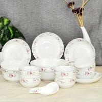 雅诚德arst陶瓷小清新防滑时尚盘碗碟家用经典20头餐具套装礼盒