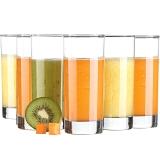 青苹果 玻璃水杯茶杯6只装 ES1006 310ml