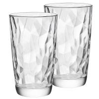 波米歐利(Bormioli Rocco)意大利進口無鉛玻璃杯水杯家用玻璃水杯470mL透明*2支裝